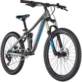 """Marin Hawk Hill Børnecykel 24"""" grå"""